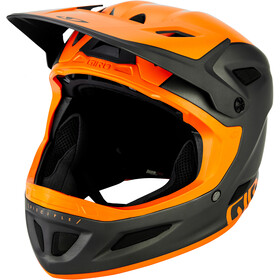 Giro Disciple MIPS Casque, matte warm black/orange